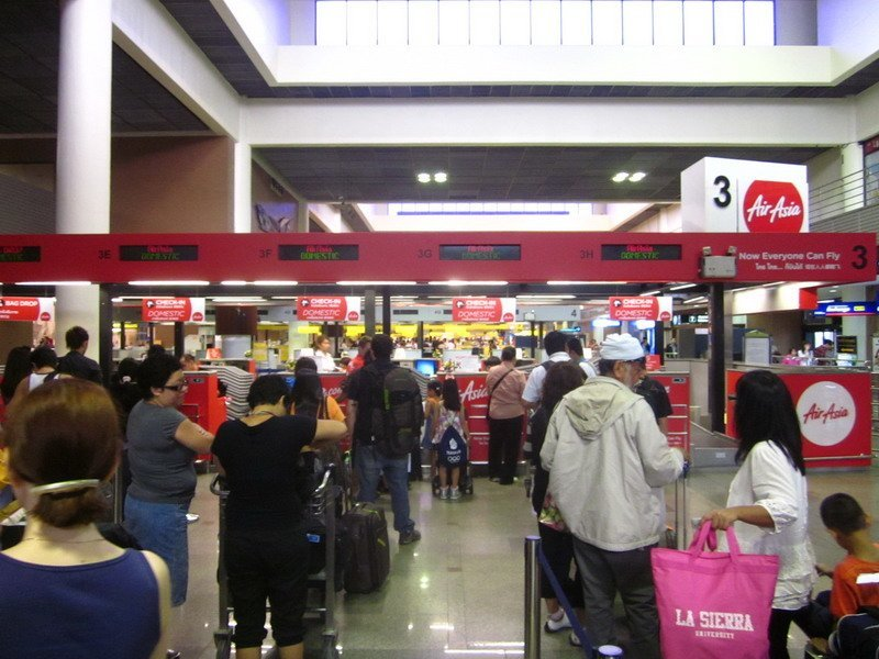 check in air asia