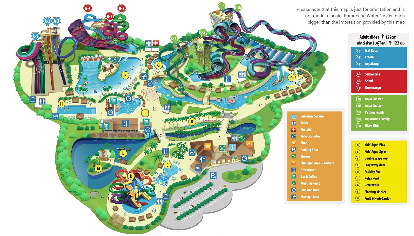 map ramayna
